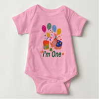 The First Birthday Gift Baby Bodysuit