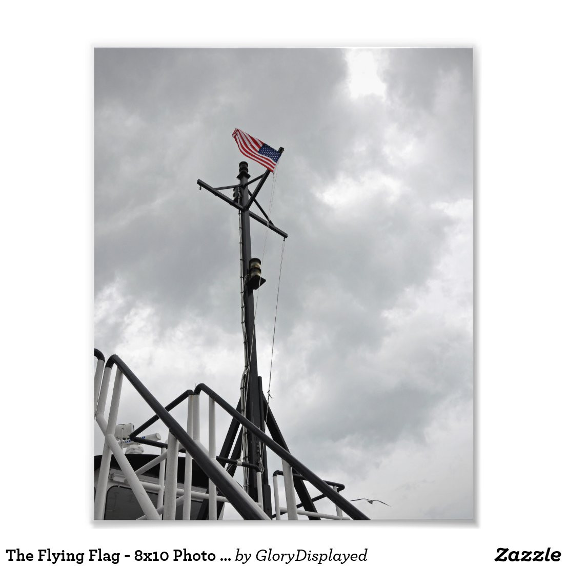 The Flying Flag - 8x10 Photo Print