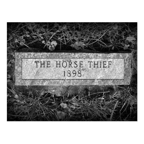 The Horse Thief Gravestone