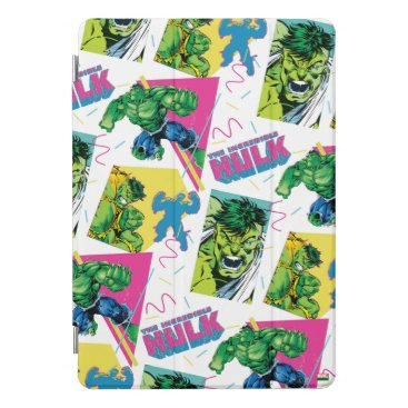The Incredible Hulk 90's Pattern iPad Pro Cover