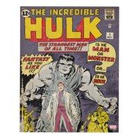 The Incredible Hulk Comic #1 Panel Wall Art | Zazzle