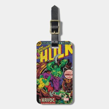 The Incredible Hulk Comic #202 Bag Tag