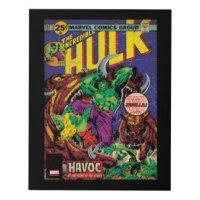The Incredible Hulk Art & Framed Artwork | Zazzle