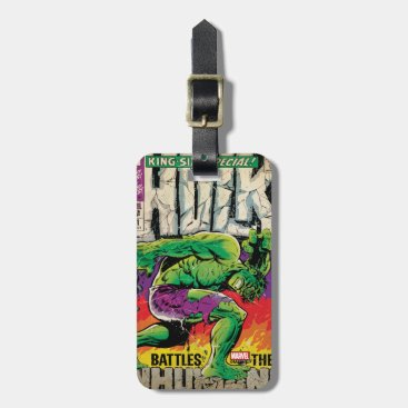 The Incredible Hulk King Size Special #1 Luggage Tag