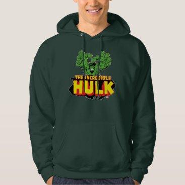 The Incredible Hulk Logo Hoodie