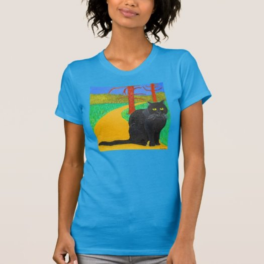 The Irina The Cat Coming Out of The Woods T Shirt