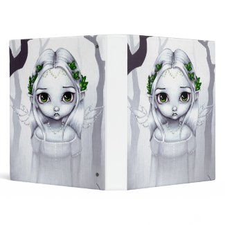 The Last Leaves BINDER fairy angel fantasy