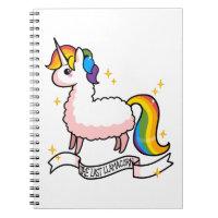 The Last Llamacorn Notebook