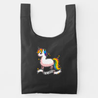 The Last Llamacorn Reusable Bag