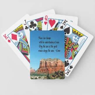 The Laws of Spirit Bicycle Playing Cards