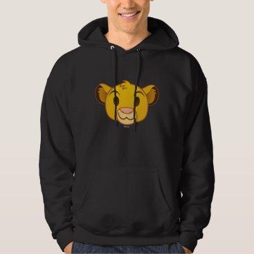 The Lion King | Simba Emoji Hoodie