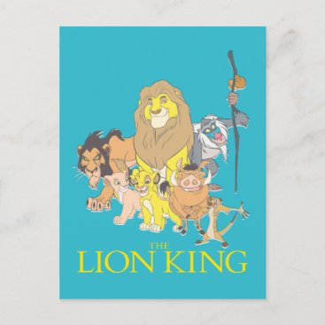 The Lion King | Title & Characters Postcard
