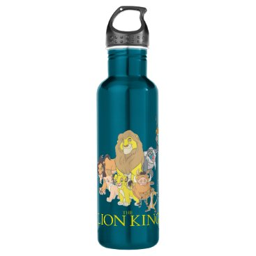 The Lion King | Title & Characters Stainless Steel Water Bottle