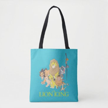 The Lion King | Title & Characters Tote Bag