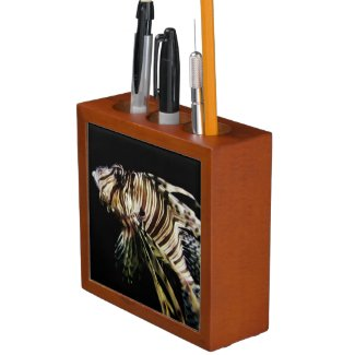 The Lionfish Pencil Holder
