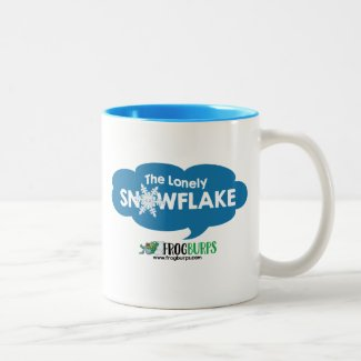 The Lonely Snowflake mug