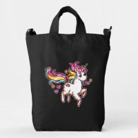 The Majestic Llamacorn Duck Bag