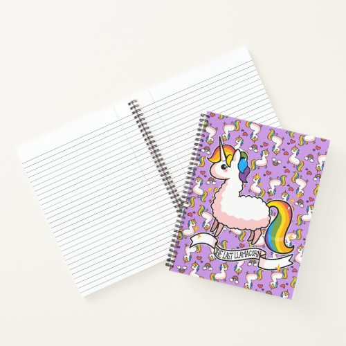 The Majestic Llamacorn Notebook