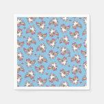 The Majestic Llamacorn Paper Napkin