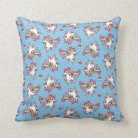 The Majestic Llamacorn Throw Pillow