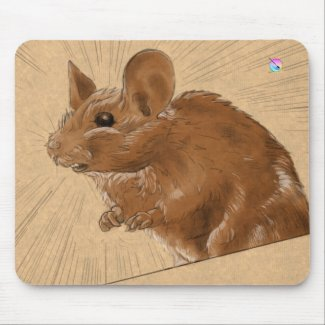 The mouse mouse-mat by Coyau! Mouse Pads