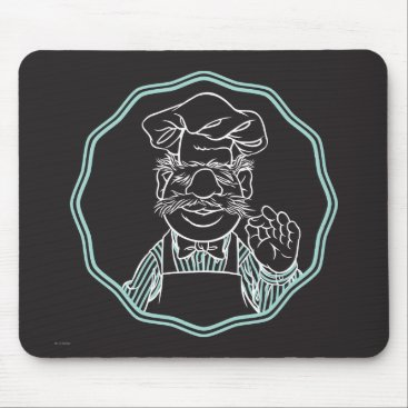 The Muppets | Chef Framed Mouse Pad