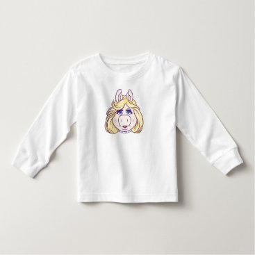 The Muppets Miss Piggy Face Disney Toddler T-shirt
