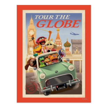 The Muppets Tour the Globe Postcard
