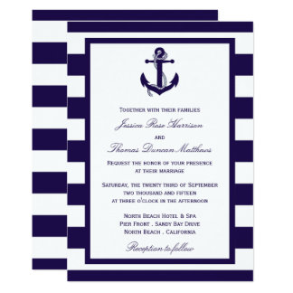 Nothing Is Quite So Delightfully Preppy As A Nautical Wedding From The Upbeat Color Palettes To Maritime Icons These Invitations Are