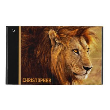 The Noble Lion Photograph iPad Case