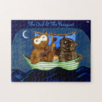 The Owl & The Pussycat Jigsaw Puzzle