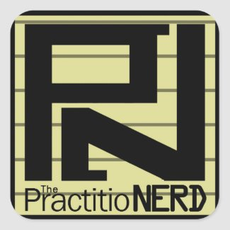 "The PractitioNERD ""Original"" Sticker Sheet Set"