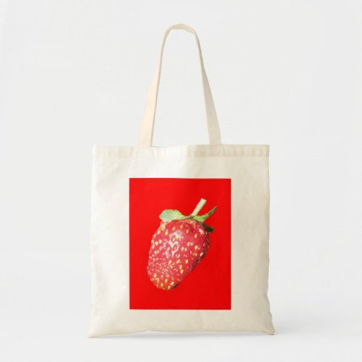 Click on the the strawberry shopping bag to purchase it over on Zazzle.