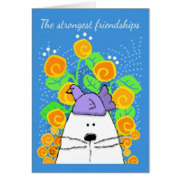 The Strongest Friendships, Cat and Bird Card