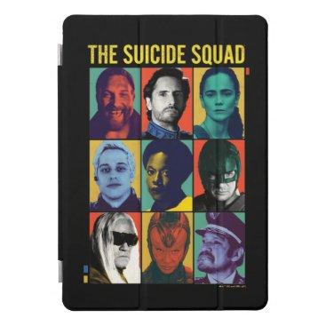 The Suicide Squad | Retro Grid With Amanda Waller iPad Pro Cover