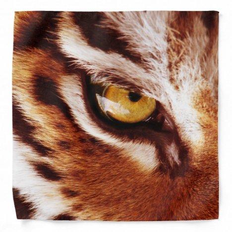 The Tiger's Eye Photograph Bandana