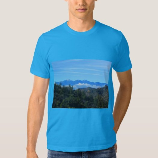 The View of Mount Baldy Tee Shirt
