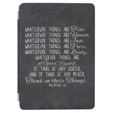 Think on These Things Christian Bible Scripture iPad Air Cover