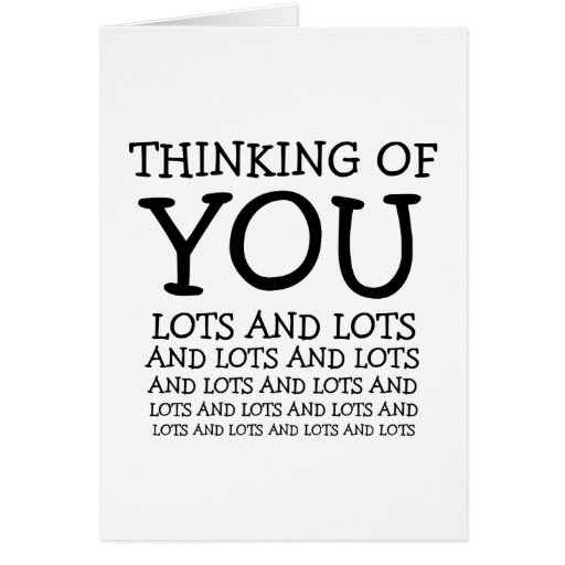 Thinking of you, cancer or get well customizable greeting