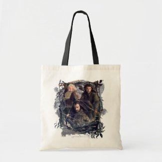 Thorin, Kili, and Balin Graphic Canvas Bag