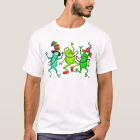 Three Dancing Frogs T-Shirt