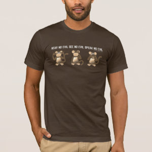 Three Wise Monkeys Shirts