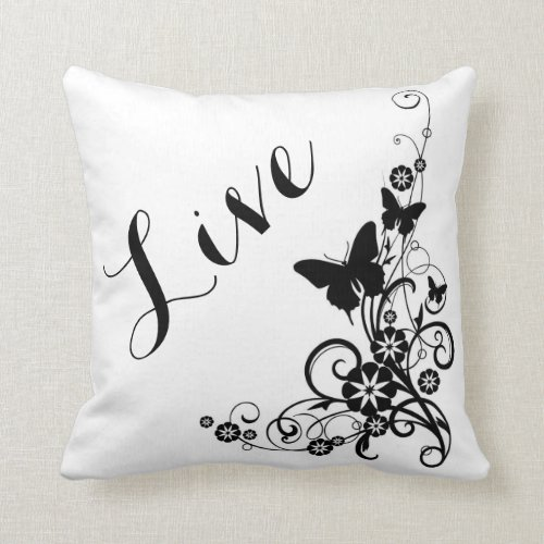 Throw Pillow/Live Throw Pillow