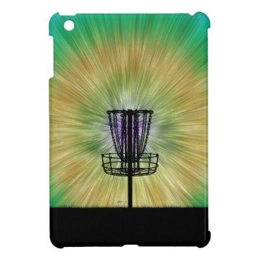 Tie Dye Disc Golf Basket Case For The iPad Mini