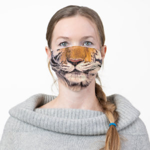 Tiger Nose and Mouth Cloth Face Mask