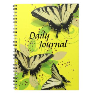 Tiger Swallowtails Spiral Notebook