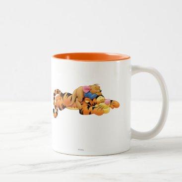 Tigger and Roo Two-Tone Coffee Mug