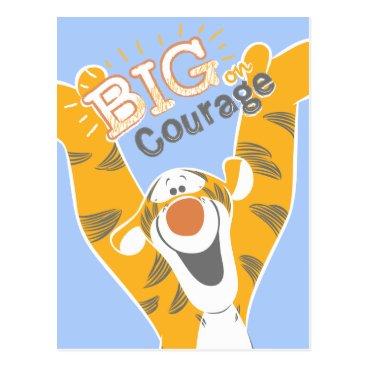 Tigger | Big Courage Postcard