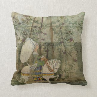 To see a fine lady upon a white horse pillow