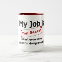 Top Secret Mug | Zazzle.com